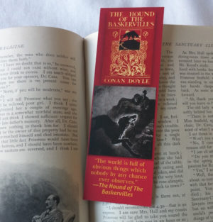 Hound of the Baskervilles Bookmark