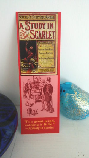 A Study in Scarlet Bookmark